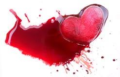 Αγάπη βίαια Στοκ Εικόνες
