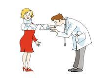 αγάπη γιατρών Στοκ φωτογραφία με δικαίωμα ελεύθερης χρήσης
