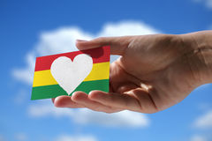 Αγάπη για τα reggae Στοκ φωτογραφία με δικαίωμα ελεύθερης χρήσης
