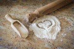 Αγάπη για το μαγείρεμα Στοκ εικόνες με δικαίωμα ελεύθερης χρήσης