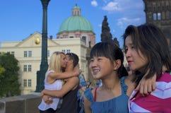 Αγάπη & ενότητα & ευτυχία Στοκ εικόνα με δικαίωμα ελεύθερης χρήσης
