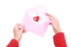 αγάπη επιστολών στοκ φωτογραφίες με δικαίωμα ελεύθερης χρήσης