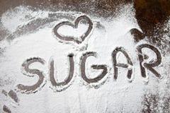 Αγάπη ζάχαρης στοκ εικόνα με δικαίωμα ελεύθερης χρήσης