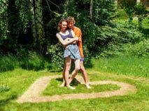 αγάπη ζευγών στοκ εικόνα με δικαίωμα ελεύθερης χρήσης