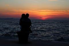 αγάπη ζευγών Στοκ Φωτογραφία