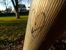 Αγάπη Ι ένα πάρκο Στοκ Φωτογραφία