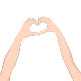 Αγάπη και έννοια σχέσεων Στοκ Εικόνες