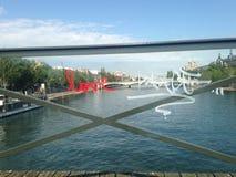 Αγάπη και ειρήνη του Παρισιού Στοκ φωτογραφία με δικαίωμα ελεύθερης χρήσης