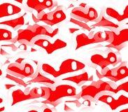 Αγάπη και διακοπές καρδιών Στοκ Εικόνες
