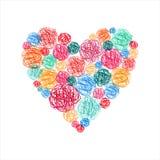 αγάπη καρδιών έννοιας Στοκ φωτογραφίες με δικαίωμα ελεύθερης χρήσης