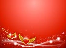 αγάπη καρδιών ανασκόπησης &phi απεικόνιση αποθεμάτων