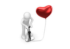 αγάπη καρδιών η αντλία μου &sigm Στοκ Εικόνα