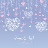 Αγάπη καρδιών Στοκ εικόνα με δικαίωμα ελεύθερης χρήσης