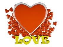 Αγάπη & καρδιές Στοκ Φωτογραφίες