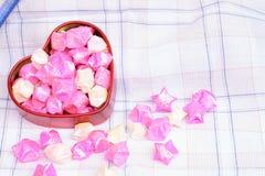 Αγάπη καρδιών για το υπόβαθρο Στοκ φωτογραφία με δικαίωμα ελεύθερης χρήσης