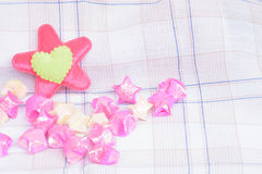 Αγάπη καρδιών για το υπόβαθρο Στοκ Φωτογραφίες