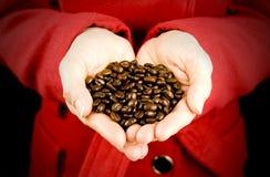 αγάπη καφέ Στοκ εικόνες με δικαίωμα ελεύθερης χρήσης