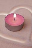 αγάπη κεριών Στοκ εικόνα με δικαίωμα ελεύθερης χρήσης