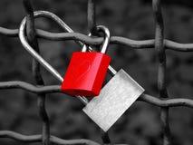 αγάπη κλειδωμάτων Στοκ εικόνα με δικαίωμα ελεύθερης χρήσης