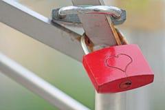 Αγάπη. Κλειδαριά Στοκ Φωτογραφίες