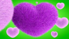 Αγάπη, μαλακή ρόδινη καρδιά Στοκ Εικόνες