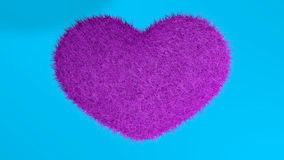 Αγάπη, μαλακή ρόδινη καρδιά Ελεύθερη απεικόνιση δικαιώματος