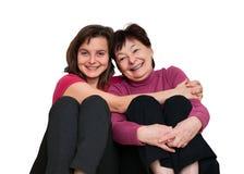 Αγάπη - μητέρα και κόρη στοκ εικόνα με δικαίωμα ελεύθερης χρήσης