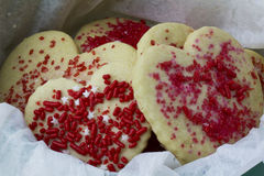 αγάπη μπισκότων Στοκ εικόνες με δικαίωμα ελεύθερης χρήσης
