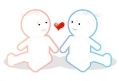 αγάπη μωρών Ελεύθερη απεικόνιση δικαιώματος