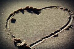 αγάπη παραλιών Στοκ Εικόνα