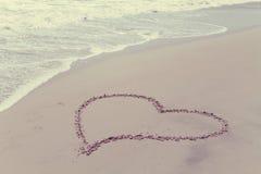 Αγάπη παραλιών Στοκ Φωτογραφία