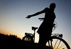 αγάπη ποδηλάτων ο γύρος μο Στοκ Εικόνες