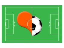 αγάπη ποδοσφαίρου ελεύθερη απεικόνιση δικαιώματος
