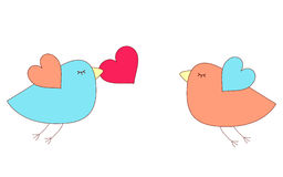 αγάπη πουλιών Στοκ εικόνα με δικαίωμα ελεύθερης χρήσης