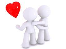 αγάπη που προσέχει έξω Απεικόνιση αποθεμάτων