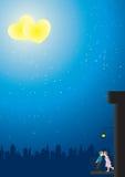 αγάπη ρωμανική Στοκ εικόνα με δικαίωμα ελεύθερης χρήσης