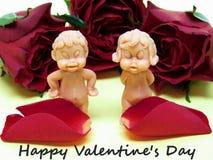 Αγάπη στα τριαντάφυλλα Στοκ εικόνα με δικαίωμα ελεύθερης χρήσης