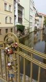 Αγάπη στην Πράγα Στοκ Φωτογραφίες