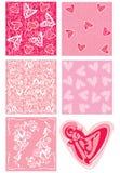 αγάπη στοιχείων ανασκοπή&sig διανυσματική απεικόνιση