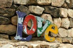 Αγάπη στους βράχους Στοκ εικόνες με δικαίωμα ελεύθερης χρήσης