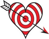 Αγάπη στόχων Στοκ εικόνες με δικαίωμα ελεύθερης χρήσης