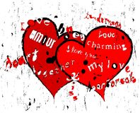 αγάπη σχεδίου ελεύθερη απεικόνιση δικαιώματος