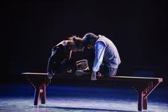 Αγάπη-σύγχρονος χορός λυκόφατος Στοκ φωτογραφίες με δικαίωμα ελεύθερης χρήσης