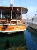 Αγάπη της Τουρκίας βαρκών Goldenhorn Στοκ φωτογραφία με δικαίωμα ελεύθερης χρήσης