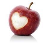 Αγάπη της Apple Στοκ φωτογραφίες με δικαίωμα ελεύθερης χρήσης