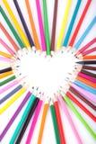 αγάπη χρώματος Στοκ εικόνα με δικαίωμα ελεύθερης χρήσης
