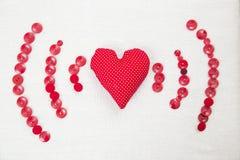 Αγάπη ως σήμα wifi στοκ εικόνα