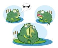 Αγάπη δύο βάτραχοι Στοκ Εικόνες
