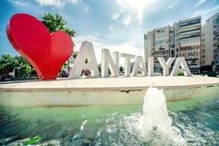 Αγάπη Antalya Στοκ φωτογραφία με δικαίωμα ελεύθερης χρήσης