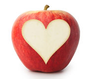 Αγάπη Apple Στοκ φωτογραφία με δικαίωμα ελεύθερης χρήσης